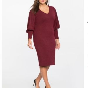 ELOQUII sweater dress